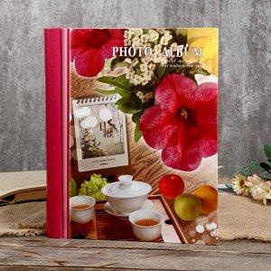 """Фотоальбом магнитный на 20 листов """"Ароматный чай"""""""