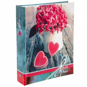 Фотоальбом на 200 фото 10х15 см Image Art, любовь, МИКС