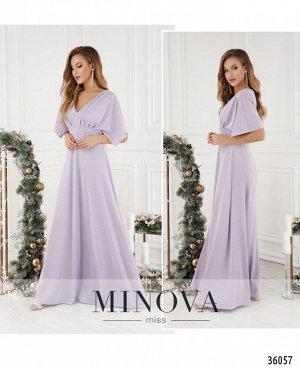 Платье №503-1-лиловый