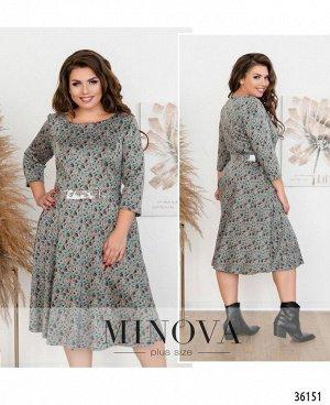 Платье №19-40-бирюза