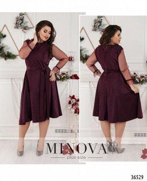 Платье №757-бордо