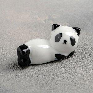 Подставка для палочек «Панда», 6х3х3 см, фигурки МИКС