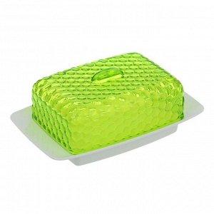 Маслёнка «Мозаика», цвет зелёный