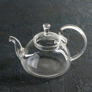 Чайник заварочный «Элегия», 600 мл, 19?13?12,5 см, с металлическим ситом