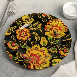 Тарелка обеденная Доляна «Феникс», d=23 см