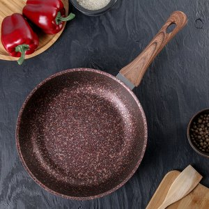 Сковорода Granit ultra red, d=26 cм, с ручкой, антипригарное покрытие