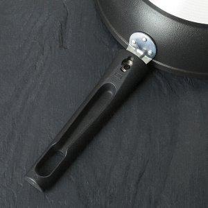 Сковорода «Традиция», 24*6 см, съемная ручка