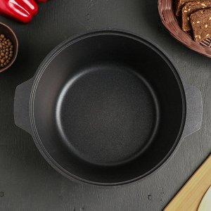 Жаровня «Традиция», d=26 см, 5 л, алюминиевая крышка, антипригарное покрытие