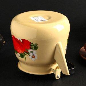 Чайник «Клубника садовая» 3,5 л, цвет бежевый