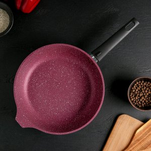 Сковорода 26 см Trendy style, со съёмной ручкой,антипригарное покрытие, цвет мистерия