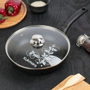 Сковорода «Традиция», 26*6 см, стеклянная крышка
