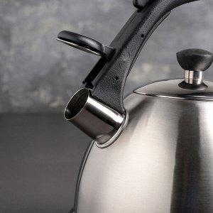 Чайник со свистком «Джуд», 3 л, индукция