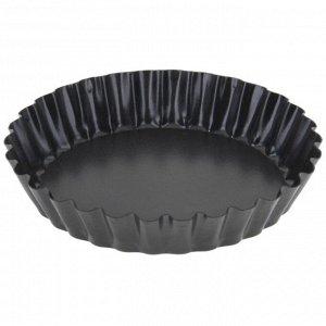 Форма для выпечки «Жаклин», d=11 см, со съёмным дном, антипригарное покрытие