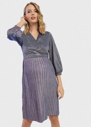 """Платье """"Хала"""" для беременных и кормящих; цвет: лиловый"""