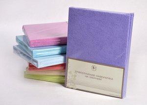 Махровая Ткань: мягкая трикотажная махровая ткань, обычной плотности 160 г/кв.м., махровый ворс - 100% хлопок, общий состав: 85% хлопок, 15% полиэстр, трикотаж произведен в России.Цвет:розовый,молоко