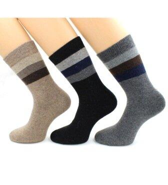 Теплые носочки Hobby Line! Новогодние! Ангора, махра  — Носки мужские ангора, кашемир — Носки