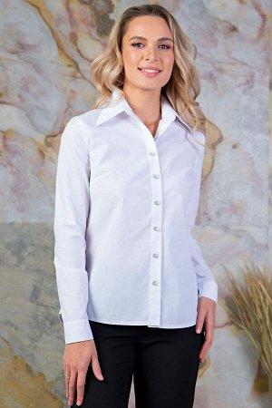 Блуза из хлопка белая (Б-34-8)
