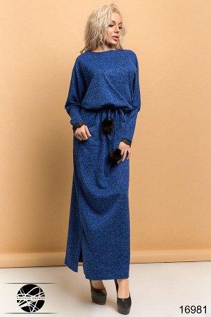 Платье с кружевом на спине