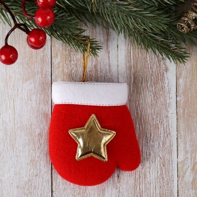 Все для Нового года: подарки, украшения, гирлянды! — Новогодние носки, варежки — Украшения для интерьера