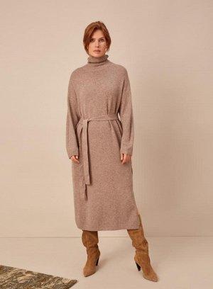 Платье теплое .