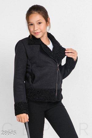 Детская куртка-дубленка
