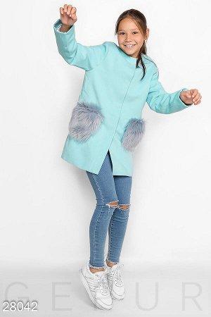 Трендовое детское пальто