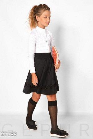 Детская стрейчевая блуза