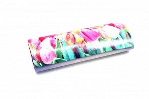 Футляр  - 10207 розовые тюльпаны