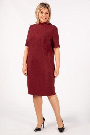 Платье Беатрис бордовый