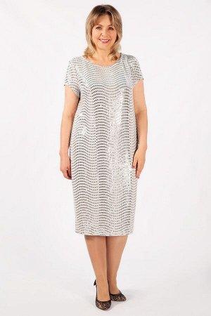Платье Канны светло-серый