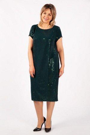 Платье Канны зеленый