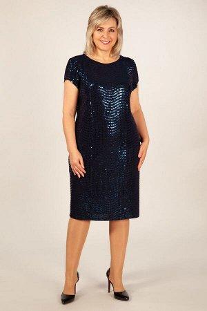 Платье Канны темно-синий