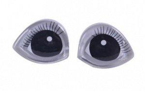 Глазки винтовые для кукол