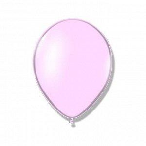 """Шар латексный 14"""", пастель, набор 50 шт., розовый"""