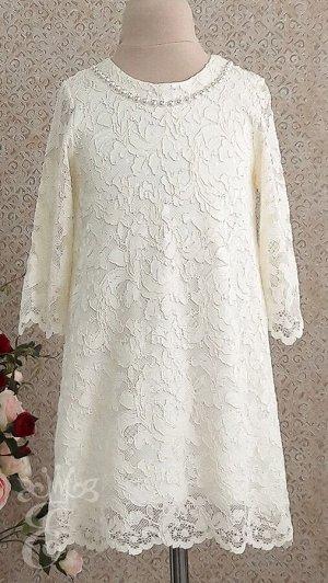 Платье гипюровое 587-ПГМ