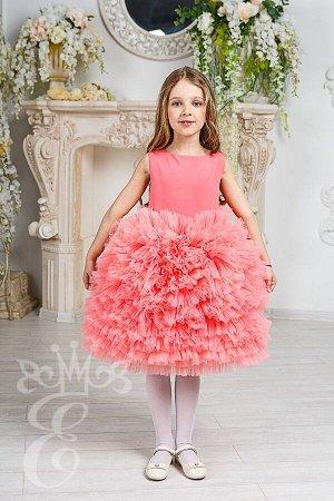 Платье с пышной юбкой 91027Пк