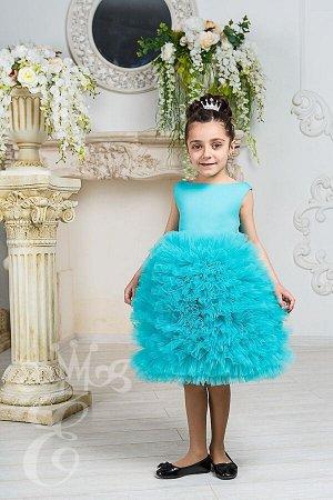 Платье с пышной юбкой 91027Пт