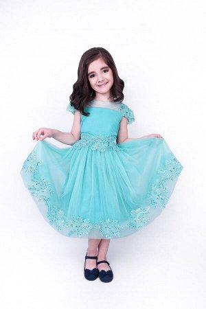 Платье нарядное 813-П