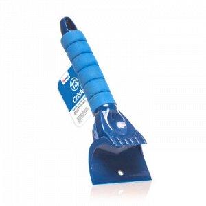 Скребок CARFORT Cristal-13 Для снега/льда, мягкая ручка 25см