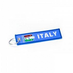 Брелок тканевый с вышивкой «ITALY»