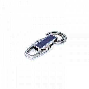 Брелок на ключи карабин со вставкой