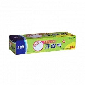 Пакет-МАЙКА с ручками в картонной коробке 34*31см, 60 шт