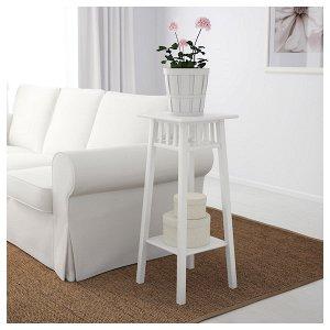ЛАНТИВ Пьедестал для цветов, белый, 78 см