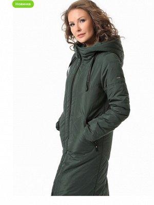 """Пальто """"Новия"""" зеленый"""