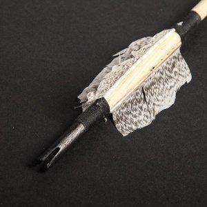 """Стрела для лука деревянного """"Традиционный и фигурный"""". 75 см. массив сосны"""
