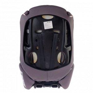 Автокресло-бустер Multi, группа 1-2-3, цвет серый/бирюзовый «Геометрия»