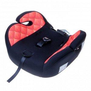 Автокресло-бустер Multi, группа 1-2-3, цвет красный/чёрный VIP