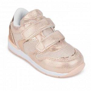 Кроссовки детские для девочки, цвет розовый, размер 22