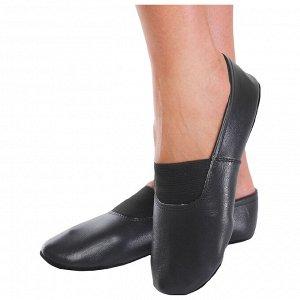 Чешки комбинированные, цвет чёрный, размер 200 (длина стопы 20,3 см)