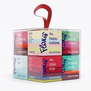 Набор «Чай в кубе» Floris 80г 1